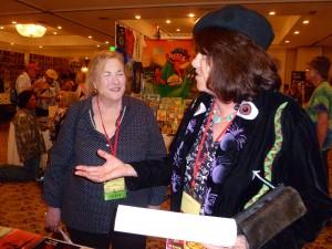 Nicky Wheeler-Nicholson and Mary Fleener.
